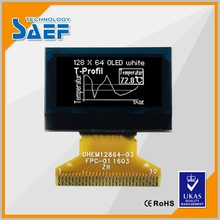 "small screen module 128X64 dots 0.96"" oled lcd display 30pin connector"