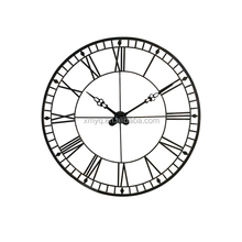 fashion decorative metal 20 inch oversize metal wall clock