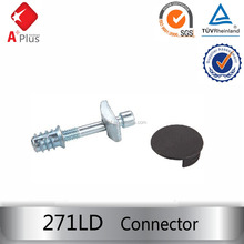 Universal joint furniture connector fitting 271LD