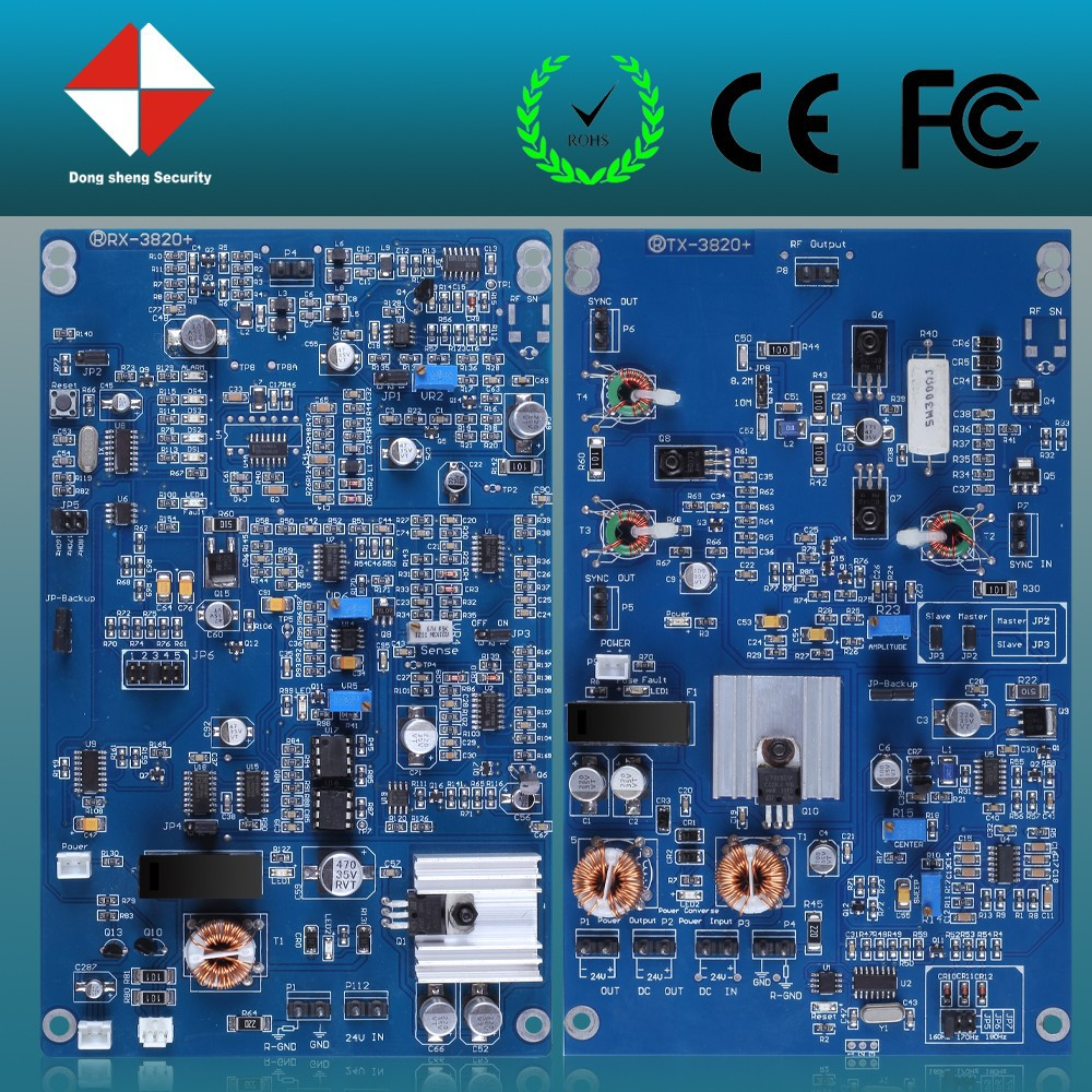 DSR-3820 RF EAS Electronic Security Alarm PCB Board for 8.2Mhz Dual System