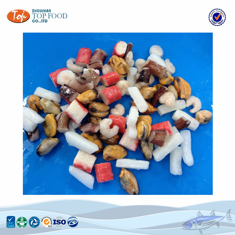 Frozen mixed seafood bags/marine cocktail for seafood mix buyer