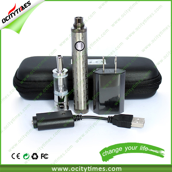 NEW arriving mini evod twist 2 kit 2.4ml capacity e-vaporizer M16 starter kit in stock
