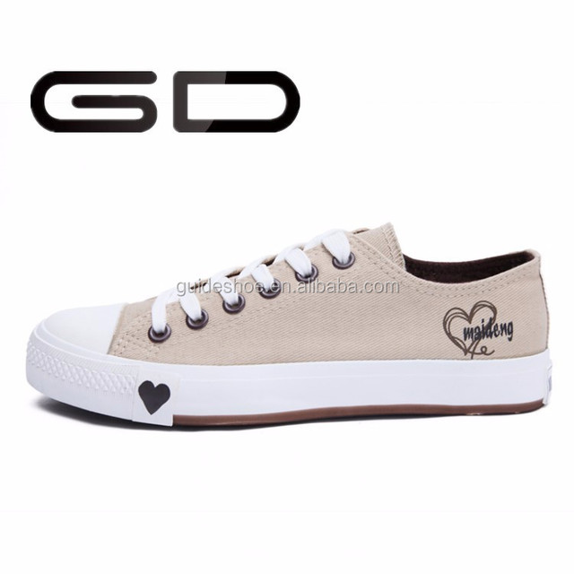2015 new model fashion canvas cheap women sneakers shoes