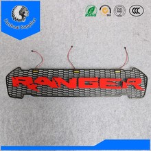 LED car grill wiht ranger logo led front grille for new ranger T7 MC