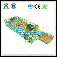 Popular kids modern indoor playground QX-105B