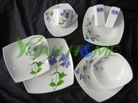 32 pcs square dinner set/new design ceramic vajilla for daily use(Y113XL94)