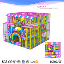 children playground for indoor soft area play items for kids