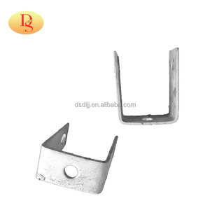 hot dip galvanized insulator D iron bracket with bolts and nuts