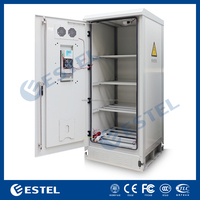 ET9090210-BA Double Wall Outdoor Battery Cabinet With Air Conditioner For Wireless Communication Base Station