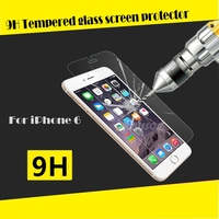 Shenzhen Factory Ultra thin 0.2mm Matte best tempered glass screen protector for iPhone 6 Plus / 2.5d Curved tempered glass
