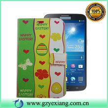 New products 2014 fancy design leather wallet case for samsung galaxy mega 6.3 i9200
