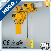 High quality PA building construction lift/mini electric chain hoist with best price