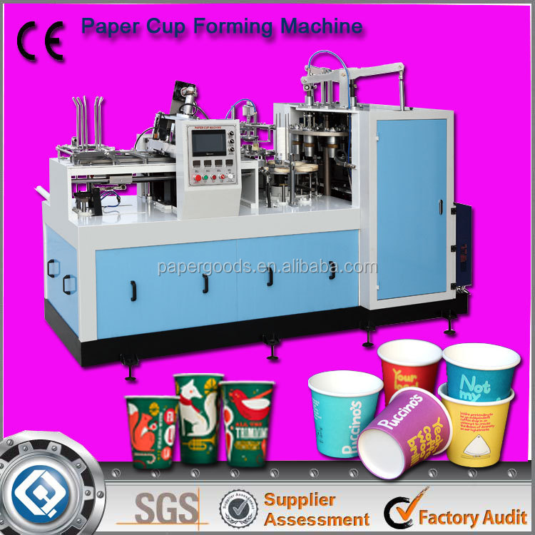 Best Used Disposable Paper Plastic Cup Making Machine Price