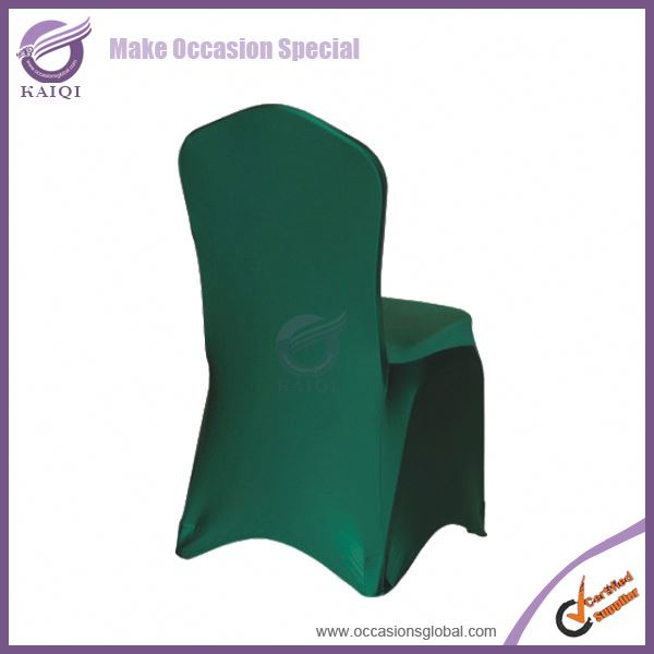 #124 hunter spandex table and chair covers wedding decoration