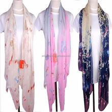 china wholesale spun polyester voile 50s 60s 80s hijab scarf fabric