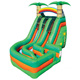 Tropical rainforest theme wholesale cheap price children tall inflatable slide