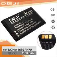 100% new original BL-5C cell phone battery pack for nokia mobile phones