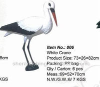 2016 new products White Crane Decoys hunting decoys and garden craft006