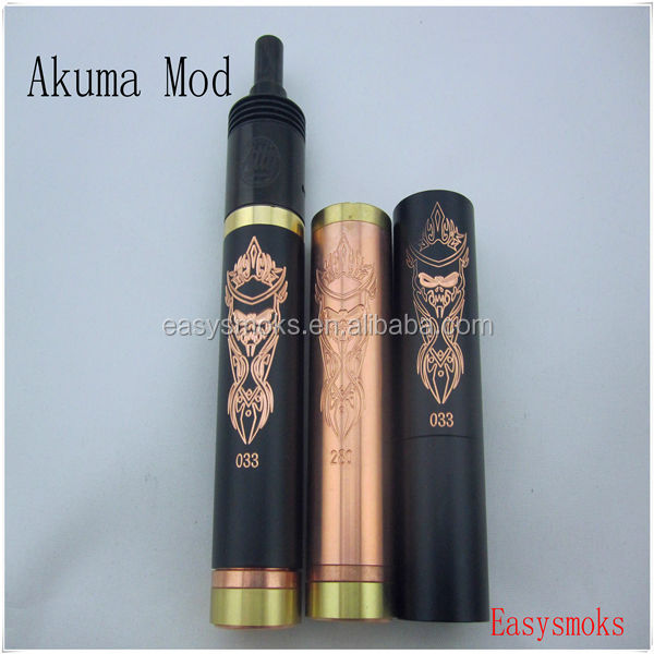 balck akuma Full mechanical mod vape stingray mod stingray x mod