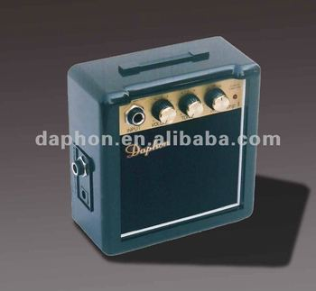 3 watt portable guitar mini amplifier Daphon mini amp