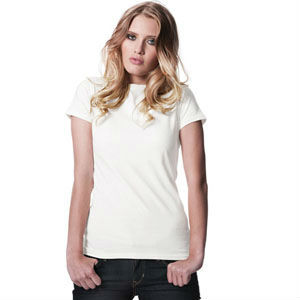 WHITE BODY FIT T-SHIRT FOR WOMEN (CODE: WTS005)