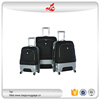 "2016 hot selling 3pcs polycarbonate abs luggage set 20""24""28"" pretty luggage set 4 wheels nylon best trolley luggage"