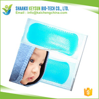 Ava recommend gel beads hot cold pack Cold Ice Patches Cooled Refreshment Patches Fever Headache Pain Relief