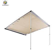 Car Awning - Portable Folding Retractable Rooftop Sun Shade Shelter
