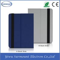 Top Quality Foldable Tablet PC Holder PU Leather Case For iPad 2
