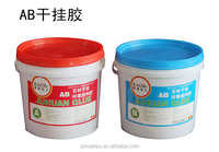 two parts ab glue strong strength epoxy resin adhesive for bonding marble dry hanging