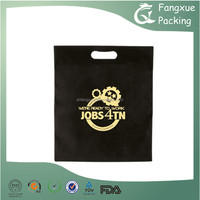 High quality hdpe flat die cut handle plastic bags for packing