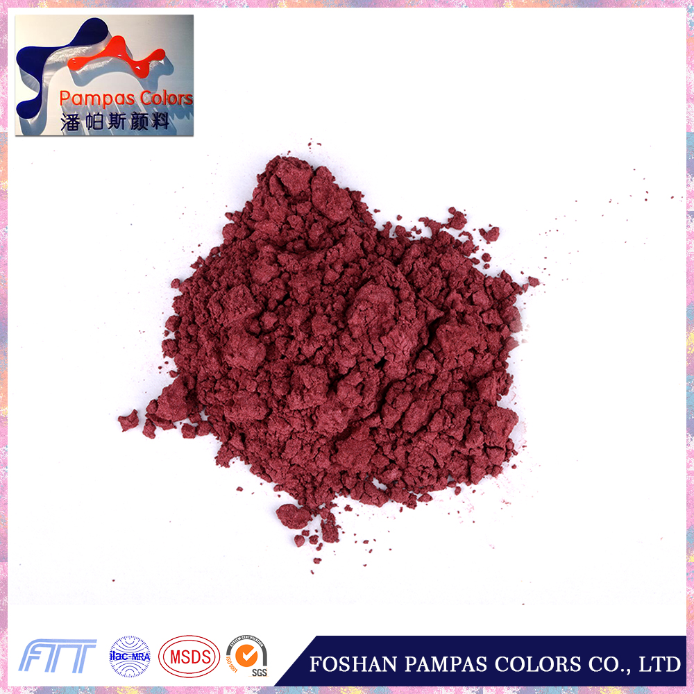 Foshan Good Reputation Ceramic Glaze Pigment for exterior wall glitter paint with technical support