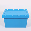plastic crates with cover, stackable transport crates