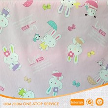 Baby cloth use twill 100 percent cotton print fabric cheapest