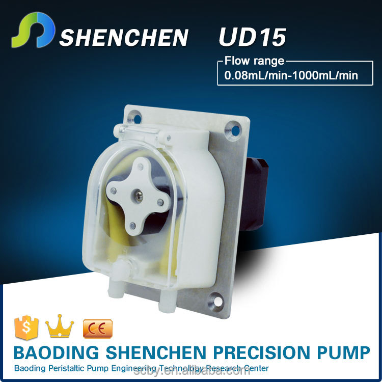 Micro peristaltic pump 104K with stepper motor used in diswashers