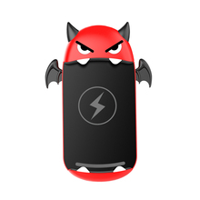 New Arrival Little Devil Car Wireless Charger Intelligent Quick Charge Vehicle Mount For <strong>Mobile</strong> <strong>Phone</strong> iPhone 8 XS MAX