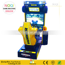 Noqi indoor game center 3d car driving simulator 3d video car racing game machine for adults