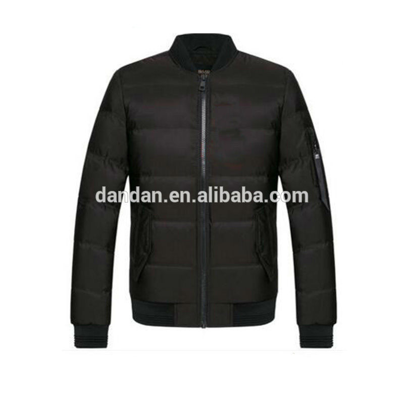 Fashion men down jacket for customize sports golf jacket