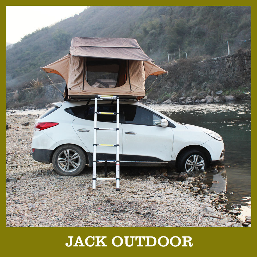 2017 Items 2 Person Canvas Rooftop Car Tent Awning