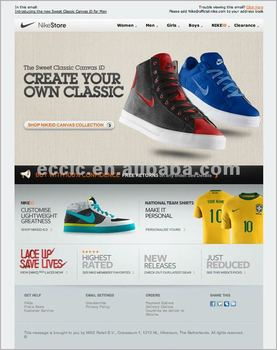 Shoes Email Marketing Templates