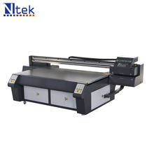 2017 Ntek Didigtal flatbed UV printer corrugated cardboard digital printing machine