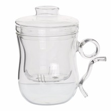 glass blowing supplies wholesale 2016 New product 250 ml drinking glass tea cup