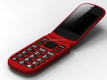 Cheap handphone flip dual sim for old age people