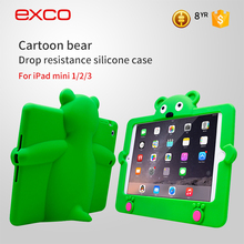 EXCO Waterproof Lastest Design silicon case for ipad mini 1 2 3