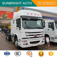 371HP SINOTRUK HOWO 6x4 Tractor Truck Low Price Sale With High Cab EURO II