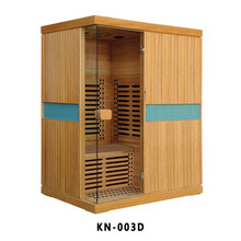 wooden low emf ozone steam portable sauna room for sale KN-003D