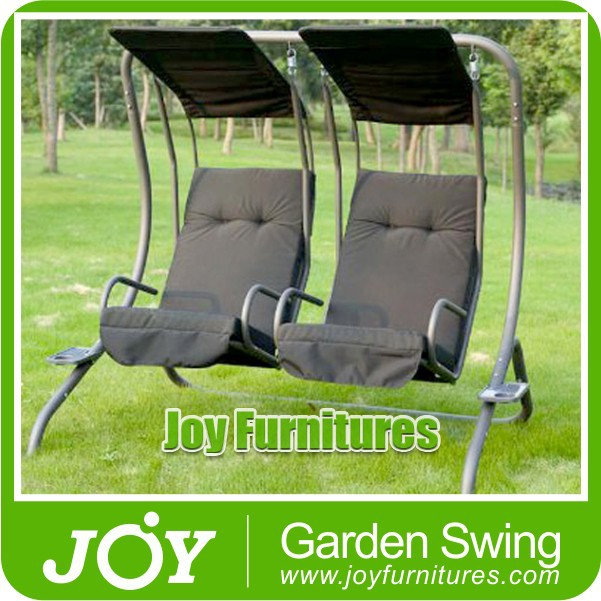 New Lyon Deluxe 2 Seater Swing Hammock Chairs wtih Cup Holder