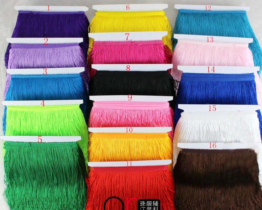 Rayon bullion fringe drapery curtain fringe wholesale ribbon brush fringe