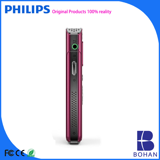 PHILIPS 2016 8G Retractable USB Mobile Phone Hidden Recorder with FM Radio and FM Record PCM NR HQ SLP Type