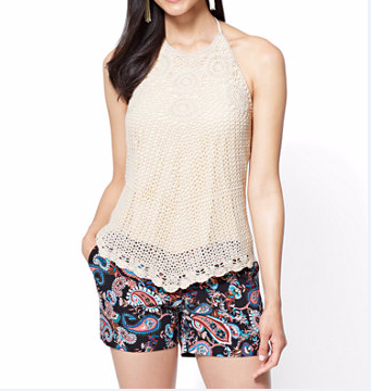 OEM Women Crochet Halter Tops
